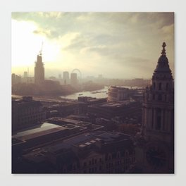 London Mornings Canvas Print