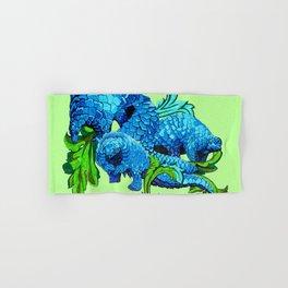 Floral Pangolins Hand & Bath Towel