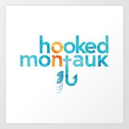 Hooked on Montauk Art Print