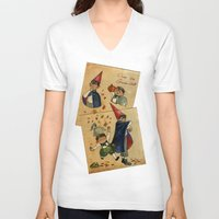 over the garden wall V-neck T-shirts featuring Over The Garden Wall by Dasha Borisenko