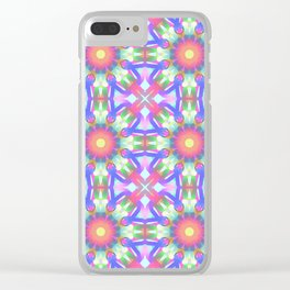 Cute floral spring patterns Clear iPhone Case