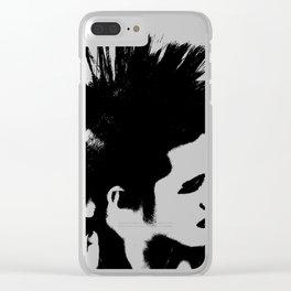 Punk! Clear iPhone Case