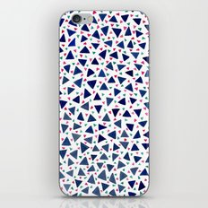 Confetti Triangles iPhone & iPod Skin