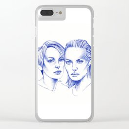 Girl interrupted Clear iPhone Case