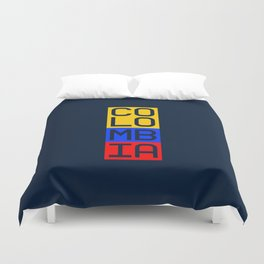 Colombia (World Cup 2018) Duvet Cover