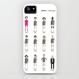 Juventus - All-time squad iPhone Case