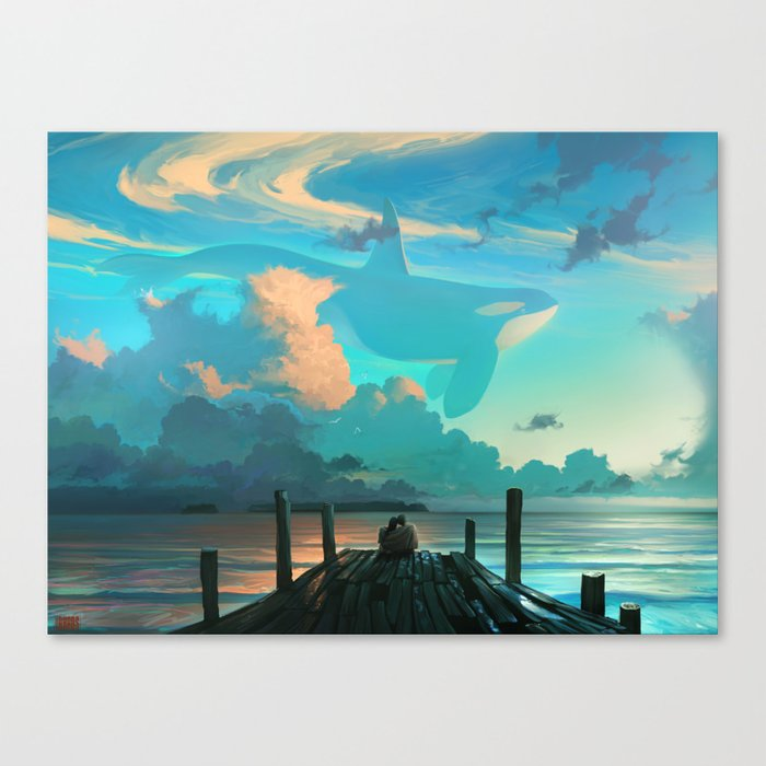Sky for Dreamers Canvas Print