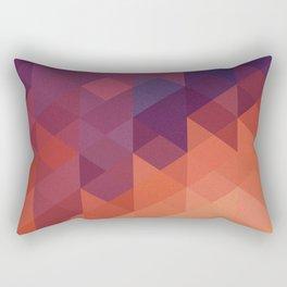 Colorful Triangle Rectangular Pillow