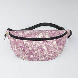 just chickens cherry pearl Fanny Pack