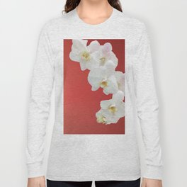 Watermelon Orchid Long Sleeve T-shirt