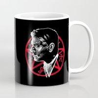 supernatural Mugs featuring Supernatural by Grace Mutton