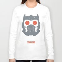 star lord Long Sleeve T-shirts featuring Star-Lord by d00d it's jake