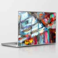 lincoln Laptop & iPad Skins featuring Lincoln Circus by tastypaper