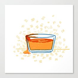 Syrup Bowl Canvas Print