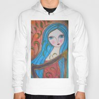inspiration Hoodies featuring Inspiration by Dulcamara