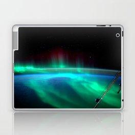 Aurora Borealis Over Earth Laptop & iPad Skin
