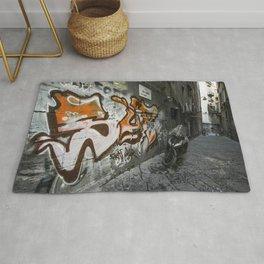 Neapolitan Graffiti Scoot Rug