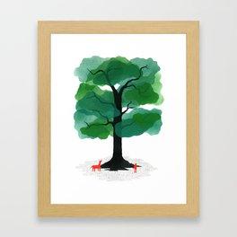 Man & Nature - The Tree of Life Framed Art Print