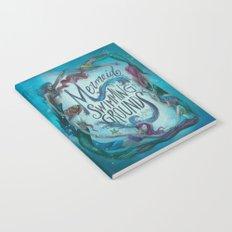 Mermaid Swimming Grounds Notebook