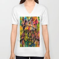 notorious V-neck T-shirts featuring Notorious  by Lauren Mair