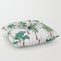 Palm Trees Pattern Floor Pillow