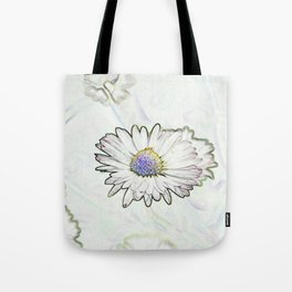 Curious Daisies Tote Bag