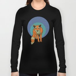 Fox at night Long Sleeve T-shirt