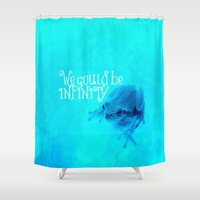 prince Shower Curtains featuring Frog Prince by Veronica Ventress