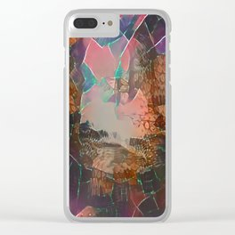 Splintered Clear iPhone Case