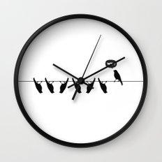 WTF? Bird Wall Clock