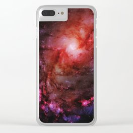 Monster of Messier 83 Clear iPhone Case