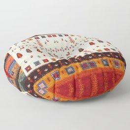 Heritage Lovely Oriental Moroccan Bazaar Style Artwork  Floor Pillow