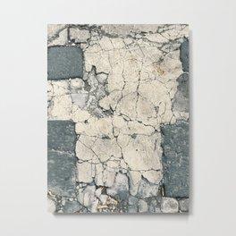 Crack On Nature (|||) Metal Print