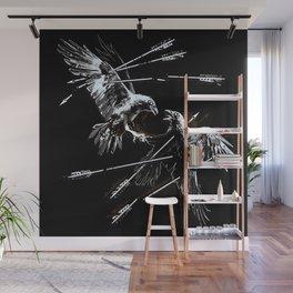 Black birds Wall Mural