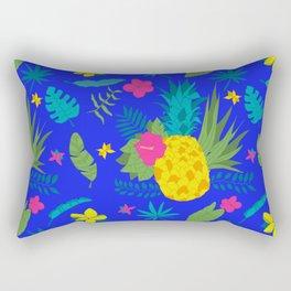Hawaii  Blue Rectangular Pillow