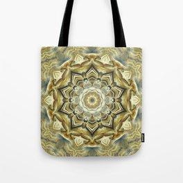 Flower Of Life Mandala (Soft Sunrise) Tote Bag