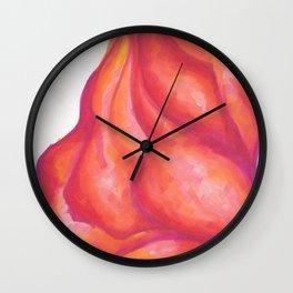 Voluptuous Blob Wall Clock