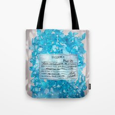 W.W. Blue Sky meth. (DEA Evidence) Tote Bag