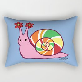 Sweetie Candie Snail Rectangular Pillow