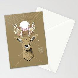 Sacred Deer Stationery Cards