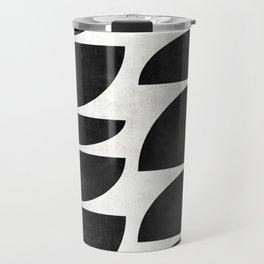 Mid-Century Modern Pattern No.9 - Concrete Travel Mug