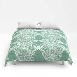 Arsenic and Clock Lace Comforters