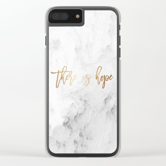 There Is Hope Clear iPhone Case