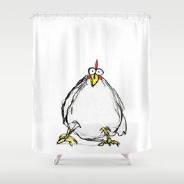 Henny (R.I.P.) Shower Curtain