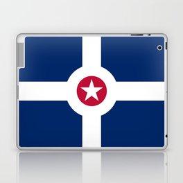 indianapolis city flag united states of america Laptop & iPad Skin
