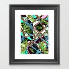 AIWAIWA TROPICAL Framed Art Print