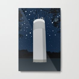 Tower in the forest Metal Print