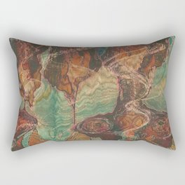 Ecstatic Pelvis (Meat Flame) Rectangular Pillow