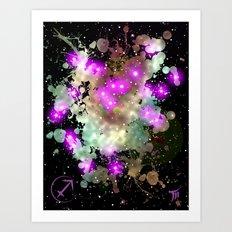 The Zodiac Sign -- Sagittarius Art Print
