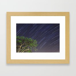 South over Suburbia  Framed Art Print
